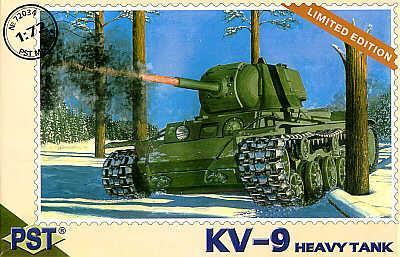 72034 - Russian KV-9 Soviet Heavy Tank 1/72