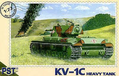 72035 - Russian KV-1C Soviet heavy tank 1/72