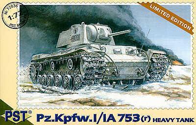 72036 - Panzer Pz.Kpfw.I/IA 1/72