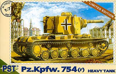 72037 - Pz.Kpfw.754 r German Heavy tank 1/72