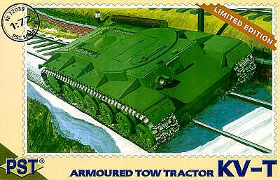 72038 - Russian KV-T Armoured Tow Tractor 1/72