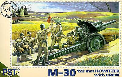 72040 - M30 122mm Howitzer with crew 1/72