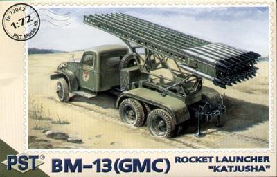 72042 - 'Katjusha' Rocket launcher BM-13 on GMC chassis 1/72
