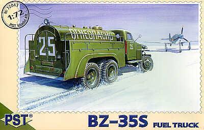 72043 - BZ-35S Fuel truck/Studebaker 1/72