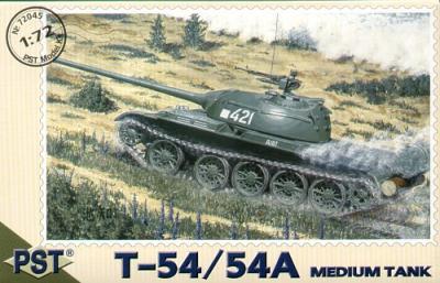 72045 - Russian T-54 medium tank 1/72