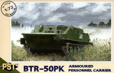 72054 - Russian BTR-50PK Armoured Personnel Carrier 1/72