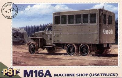 72056 - M16A Machine shop (US6 truck) 1/72