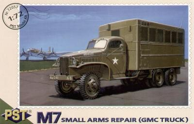 72057 - M7 Small Arms Repair (GMC truck) 1/72