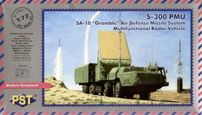 72060 - SA-10 'Grumble' Air Defense Missile System Multifunctional Radar System 1/72