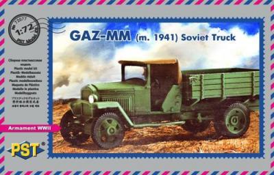 72077 - GAZ-MM m.1941 Soviet truck - Limited edition 1/72