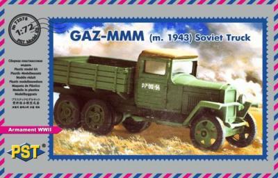 72078 - GAZ-MMM m.1943 Soviet truck - Limited edition 1/72