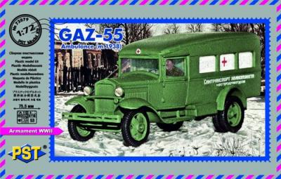 72079 - GAZ-55 AMBULANCE (m.1938) 1/72