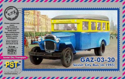 72083 - GAZ-03-30 Soviet City Bus (m.1945)1/72