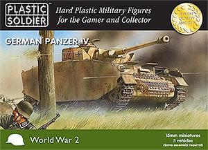 WW15004 - Pz.Kpfw.IV Tank 15mm