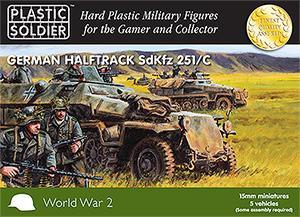 WW2V15003 - German Sd.Kfz.251 Ausf.C 15mm