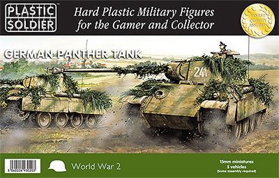 WW2V15012 - German Pz.Kpfw.V Panther Tank 15mm