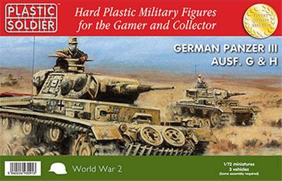WW2V20010 - PzKpfw.IIIG & H 1/72