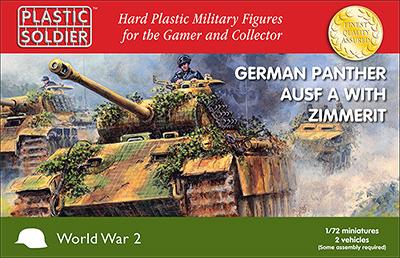WW2V20011 - German Panther AUSF A With Zimmerit 1/72