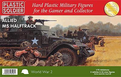 WW2V20013 - Allied M5 Halftrack 1/72