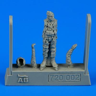 QAB720002 - U.S.A.F. fighter pilot - Vietnam war 1960 - 1975 1/72