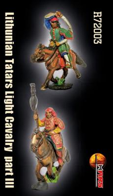 R72003 - Lithunian Tatars Light Cavalry Set 3 1/72