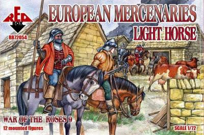 72054 - European Mercenaries Light Horse Wars of the Roses 1/72