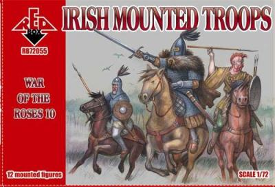 72055 - War of the Roses 10. Irish Mounted Troops 1/72