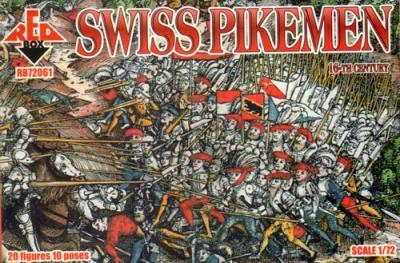 72061 - 16th Century Swiss Pikemen 1/72