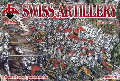 72065 - Swiss Artillery 16 c. 1/72