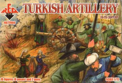 72066 - 16th Century Turkish Artillery 1/72