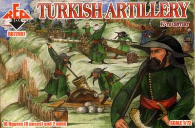 72067 - 17th Century Turkish Artillery 1/72