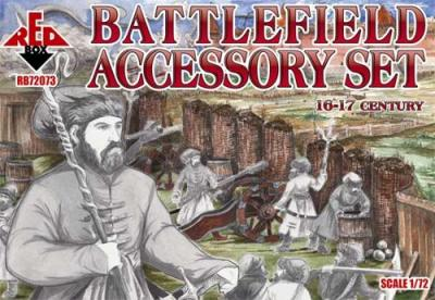72073 - Battlefield Accessory Set 16-17 century 1/72