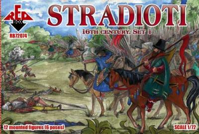 72074 - Stradioti. 16th century. Set 1 1/72
