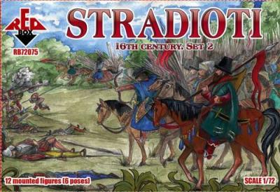72075 - Stradioti. 16th century. Set 2 1/72