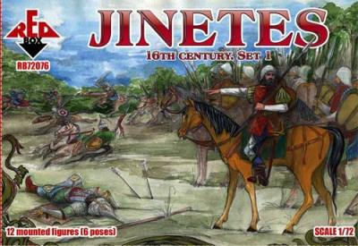 72076 - Jinetes. 16th century. Set 1 1/72