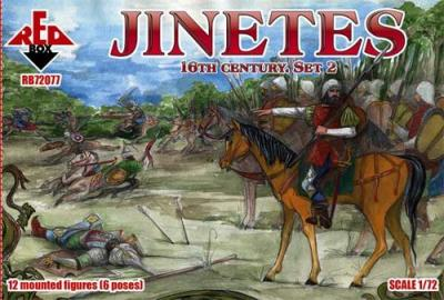 72077 - Jinetes. 16th century. Set 2 1/72