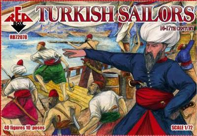 72078 - Turkish sailors, 16-17th century 1/72