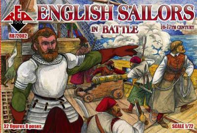 72082 - English sailors in battle, 16-17th century 1/72