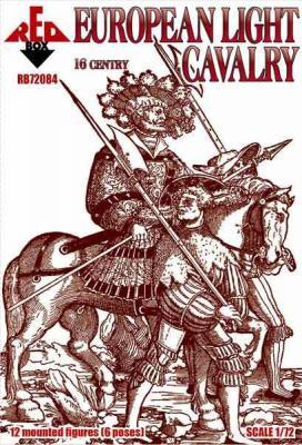 72084 - European light cavalry, 16th century, set 1 1/72