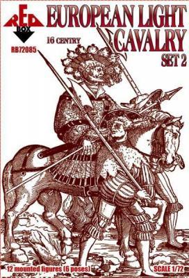 72085 - European light cavalry, 16th century, set 2 1/72