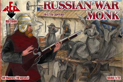 72086 - Russian war monk 16-17th century 1/72