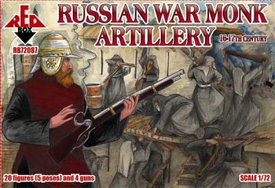 72087 - Russian war monk artillery 16-17th century 1/72