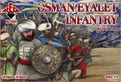 72088 - Osman Eyalet infantry, 16-17th century 1/72