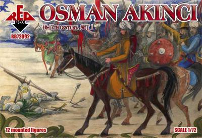 72092 - Osman Akıncı 16-17 century. Set 1 1/72