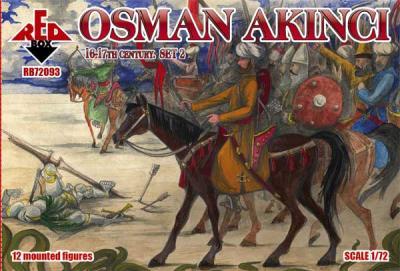 72093 - Osman Akıncı 16-17 century. Set 2 1/72
