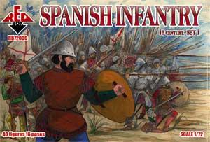 72096 - 	Spanish Infantry 16th century set 1 1/72