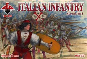 72099 - Italian Infantry 16th century set 1 1/72