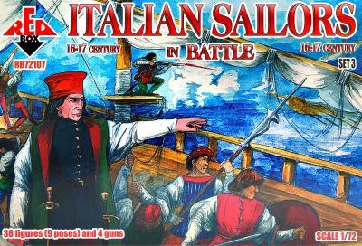 72107 - Italian Sailors in Battle, 16-17 century 1/72