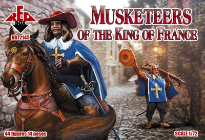 72145 - Musketeers of the King Of France 1/72