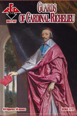 72147 - Guards of Cardinal Richelieu 1/72